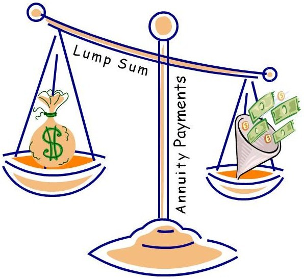 Taxese on Lottery Wins - Lump Sum Or Annuity