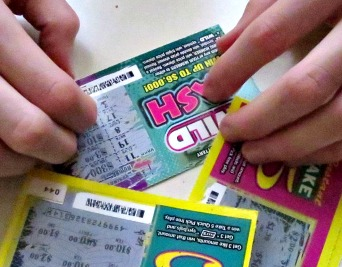 lottery scratch off ticket